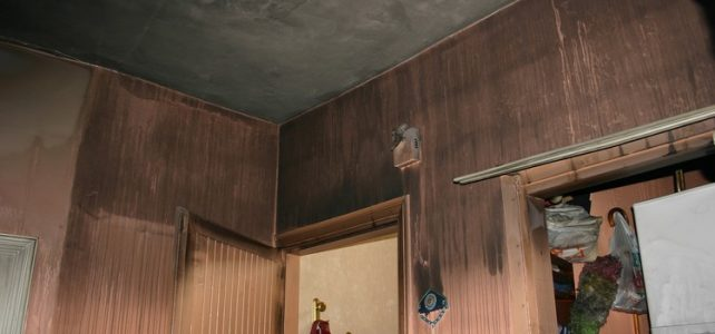 Yangın temizlik şirketi, yangın temizliği nasıl yapılır, yanmış evin temizlenmesi, yangın sonrası boya badana firması